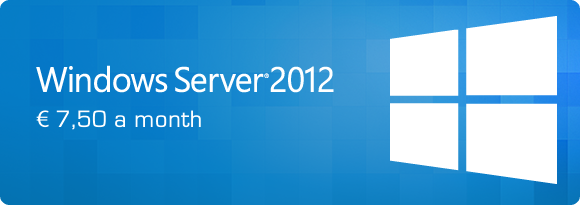 Windows Server 2012 R2 for BladeVPS PureSSD