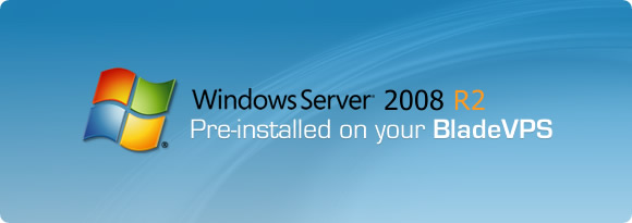 Windows Server 2008 RS for BladeVPS PureSSD